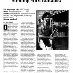 Strolling MIDI Guitarist